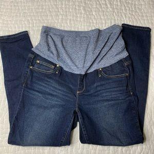 Gap True Skinny Medium Wash Maternity Jeans